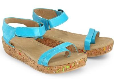 Nell Women Blue Flats