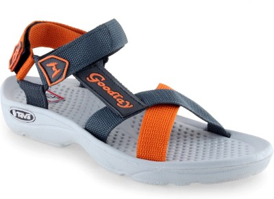 GOODLAY Men Orange Sandals