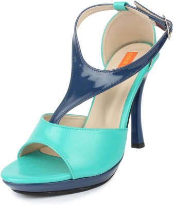 Cara Mia Women Green Heels
