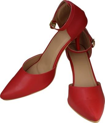 Smart Traders Women RED Heels