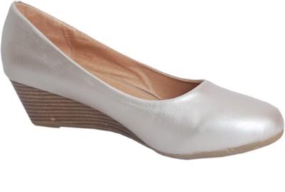 1 WALK Women Silver Wedges