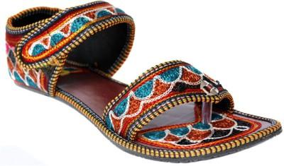 Indirang Women Multicolor Flats