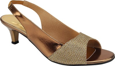 GenerationX Women Gold Heels