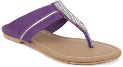 Foot Jewel Women Purple Flats