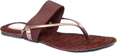 Laila Collections LATE005100BRW Women Brown Flats