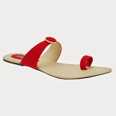 Azores Women Red Flats