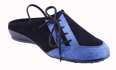 Fabme Women Blue Flats