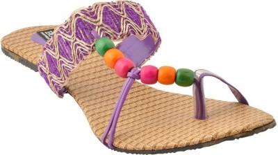 Bootwale Women Purple Flats