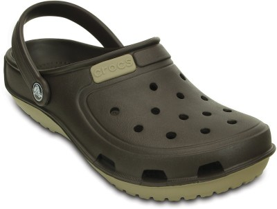 Crocs Women Brown Clogs