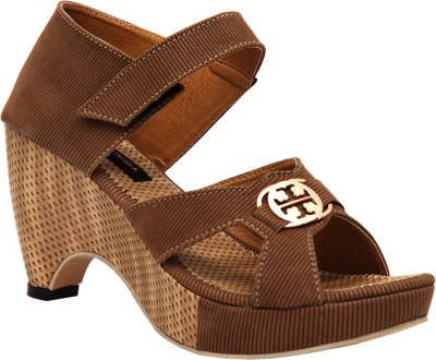 Trilokani Women Brown Heels