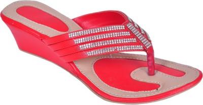 WOMENS CLUB Girls Red Sports Sandals