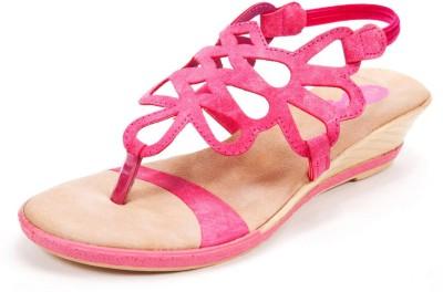 Beyond Blazing Star Women Pink Wedges