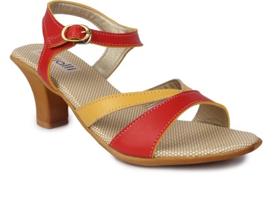 Kajjalli Women Red Heels