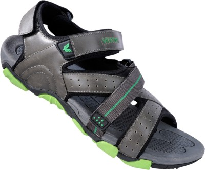 Vestire Men Grey, Green Sandals