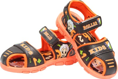 Hyfex Baby Boys Brown Sandals