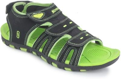 SRV Boys, Men Black, Green Sandals