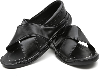 Rover Men Black Sandals