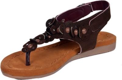 Alwin Women Brown Flats
