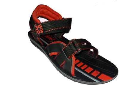 PU-ITALIAN Men Red Sandals