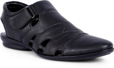 Peponi Men Black Sandals