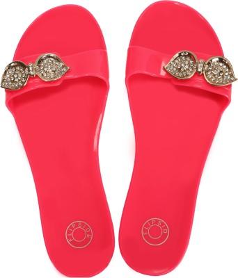 Flipside Ocean Pink Slippers