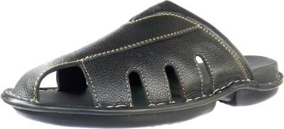 DERA Men Black Sandals