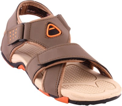 Banjoy Men Brown, Orange Sandals