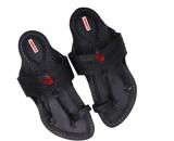 Sushito Men Black Sandals
