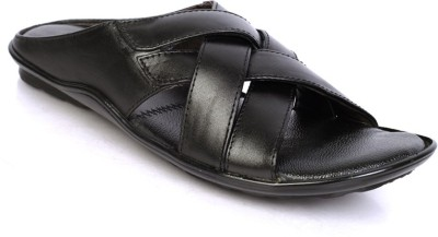 Nawaabs Men Black Sandals