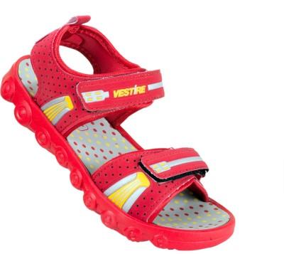 Vestire Boys Red, Beige Sandals