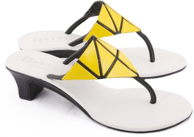 Zotti May Women Yellow, Black Heels