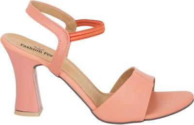 Fashion Feet Women Pink Heels