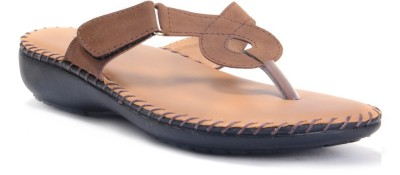 E-Lyte Brown Women Brown Flats