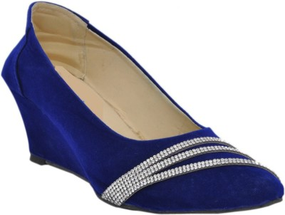 Altek Women Blue Wedges