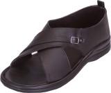 Shoebook Men Black Sandals