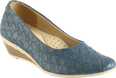 Abile Valor Women Blue Wedges