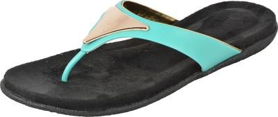Royal Collection Women Blue, Black Flats