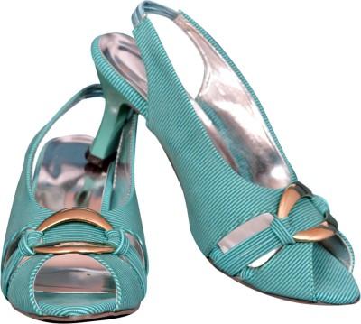 Cozy Women Blue Heels