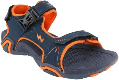 Action Campus Men Navy, Orange Sandals