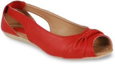 Studio 9 Chic Ballerina Women Red Flats