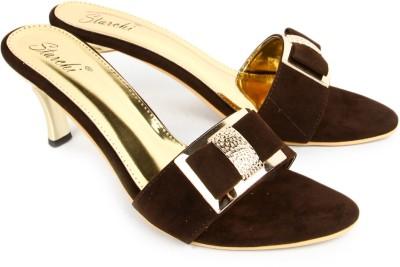 Starchi Women Brown Heels