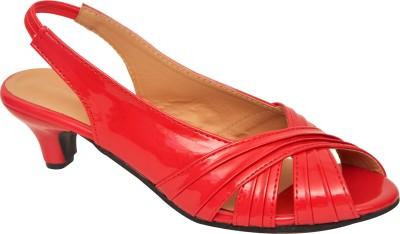 Stepee Women Red Heels