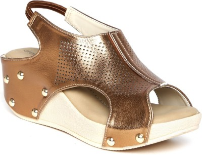 Dressberry Women Silver Wedges