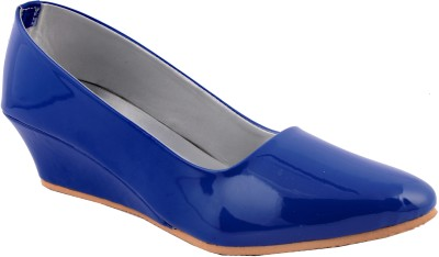 Aashka Women Blue Wedges