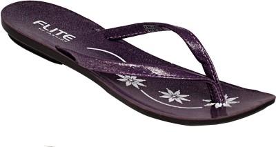 Relaxo Women Purple Flats