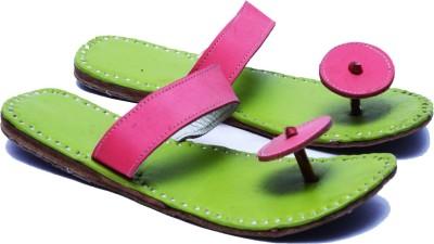Manthana Men Green Sandals