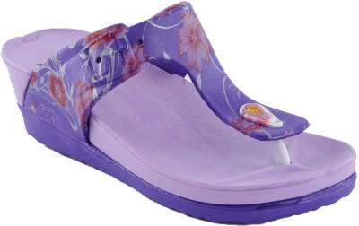 Spice Bistro Women Purple Wedges