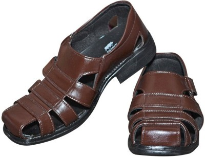 Port Zigzag Men Brown Sandals
