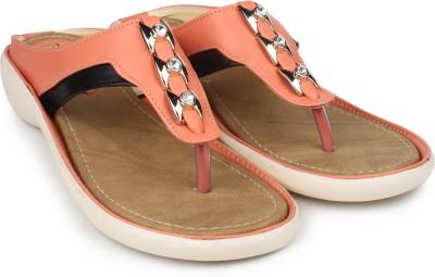 Moonwalk Women Orange Flats