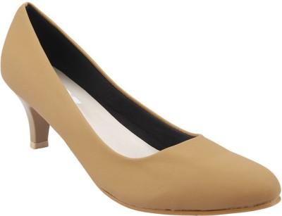 Allinyou Women Tan Heels